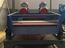 振动脱水筛换筛网的方法