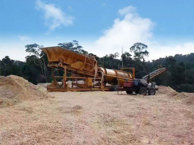 旱地淘金设备