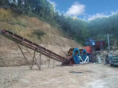 固定式破碎制沙生产线